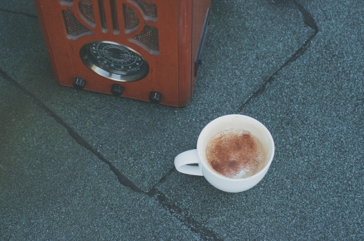 maple cinnamon latte with almond milk