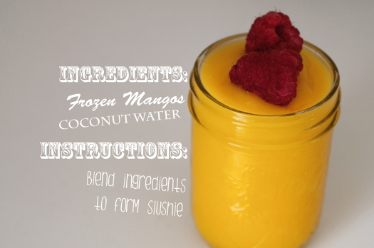 Mango Coconut Slush