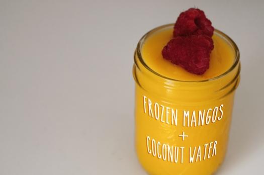 Mango Coconut Slush